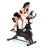KALOAD LCD Ekran Ultra sessiz Kademesiz Ayarı Ev Egzersiz Bisikleti Kapalı Spor Fitnes Ekipman Bisiklet Bisikletleri