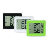 TS-E01 Digitale displaythermometer Hygrometer 0 ℃ -50 ℃ Thermometer Zwart / Wit / Geelgroene Bureauthermometer