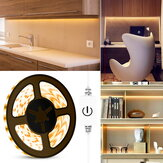 0.5M/2M/5M Waterproof Touch Control USB LED Strip Light 2835SMD Dimmable Lamp for Kitchen Makeup Mirror