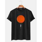 Mens Sun & Planet Graphic Printed Daily Casual Short Sleeve T-Shirts