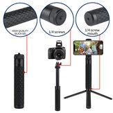 Batang Ekstensi LEDISTAR Tongkat Selfie 15.7cm-57.2cm untuk GoPro Tripod Gimbals Smartphone Action Cameras