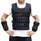 3/15/35kg Adjustable Weighted Vest Running Strength Training Sport Fitness Tank Tops