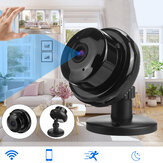 Smart Camera HD 1080 p Groothoek Compact Camera Waterdicht Infrarood Nachtzicht Draadloze Netwerk Monitor Beveiligingscamera EU / US Plug