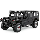 HG P415 Standard 1/10 2.4G 16CH RC Car for Hummer Metal Chassis Vehicles Model w/o Battery Charger