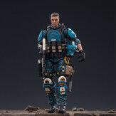 JOYTOY figurka wieloprzegubowy obrotowy US Army Airborne Division niebieski Falcon rysunek nowa zabawka na zabawki kolekcjonerskie