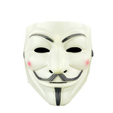 V de Vendetta Guy Máscara Resin Anonymous Guy Fawkes Halloween Máscara Halloween Party Cosplay Hacker Máscara