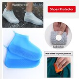 महिलाओं के निविड़ अंधकार गैर पर्ची मोटी तह Foldable पोर्टेबल पहनने के लिए प्रतिरोधी पुन: प्रयोज्य जूत