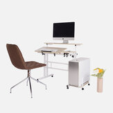 Upgraded Height Adjustable Standing Desk Computer Laptop Desk 2 Layers 31.5