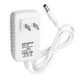 AC100 -240 V para DC12V 2A US Plug Power Adapter DC Conector 5.5 * 2.1mm para LED luz de tira