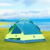 ZENPH 3-4 personen automatische tent waterdicht PU 1000 mm luifel zonnescherm buiten kamperen vanaf