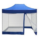 3x6m Kampçılık Çadır Sivrisinek Böcek Mesh Canopy Kovucu Net