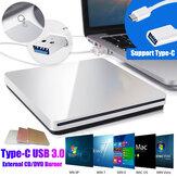 Slanke USB Externe CD-brander Lezer Speler CD / DVD-speler Optisch station voor pc Laptop Windows