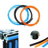 2M / 5M 6mm Flat Seal 2020 Alluminio Profilo Slot Cover / Panel Holder con Nero / Arancio / Blu per Stampanti 3D serie CR10