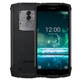 DOOGEE S55 5.5 inch IP68 Android 8.0 4Go RAM 64Go ROM MTK6750T Octa Core 5500mAh 4G Téléphone Intelligent