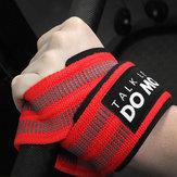 AOLIKES1paraSportoweopaskina rękę Nylon Elastyczne bransoletki Outdoor Sports Wsparcie nadgarstka
