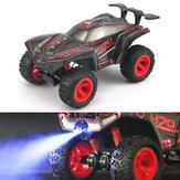 HR 1/12 2.4G 4CH Crawler Off Road RC Modelli di veicoli per auto con giocattolo leggero a spruzzo