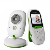 Vvcare VB602 2.4G Wireless Baby Monitor 2 Inch Electronic Babysitter Nanny Security Camera Two-way Audio Night Vision Temperature Monitoring