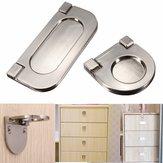 In lega di zinco gute maniglia incorporata invisibile guardaroba cassetto maniglia manopola armadio