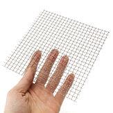 15x15cm Ekran tkaniny z drutu ze stali nierdzewnej 304 4 oczka
