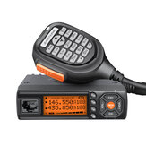 Zastone 218 Two Way Radio Dual Band VHF 136-174MHz UHF 400-470MHz Mobile Car Radio Transceiver 25W Mini CB Radio Station