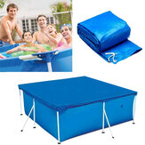 Square Swimming Pool Cover Ground Mat UV-resistant PE Rainproof Dust Cover Inflatable Pool Accessories For Outdoor Backyard Garden