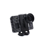 GEPRC Crocodile Baby 4″ 15/25 Degree HD TPU Camera Mount for Gopro6 FPV Action Camera FPV RC Racing Drone