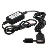 DC12-24V Etanche 5V 2A Moto USB Chargeur Pour Téléphone GPS Tablet