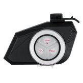 Motorradhelm Bluetooth Headset Lautsprecher MP3 FM Radio Kopfhörer Mit Colorful Licht