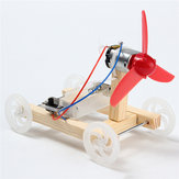 DIY Invención de Tecnología Kit de Montaje del Modelo de Coche del Viento de Un Ala
