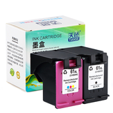 TIANSE 1 Pack 61XL 61 XL Replacement Ink Cartridge HP61 61 for HP Deskjet 1000 1050 1055 2000 2050 2512 3000 J110a J210a J310a 5530 4500 Printer Ink