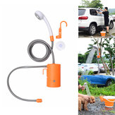 IPRee® Outdoor Electric Shower Nozzle Sprinkler Self-priming Water Pump Car Clean Camping Travel