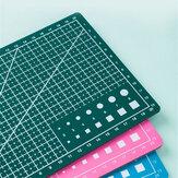 A3 / A4 Kétoldalas vágószőnyeg Öngyógyító kézműves Scrapbooking Board Patchwork papír kézműves vágóeszközök mérnöknek