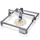 SCULPFUN S6 Pro 40W laserový gravírovací stroj Ultratenký zaměřovač na akrylové laserové řezání dřeva Vysoce přesná velká řezbářská plocha DIY stolní laserový gravírovací řezač