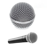 Ersatz-Gesangsmikrofon für Mikrofongitter für Shure SM58 SM58LC SM58SK SM58S