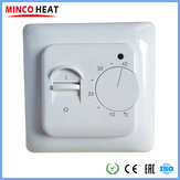 MINCO HEAT M5 Mechanical Thermostat Floor Electric Heating Temperature Controller Gas Boiler Heating Temperature Regulator For Home