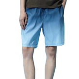 [FROM ] Men's Shorts Breathable Flexible Quick-Drying Ultra-Thin Adjustable Beach Sports Casual Board Shorts Pants