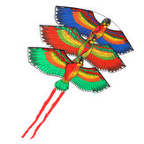Outdoor Beach Park Poliester Camping Flying Kite Bird Parrot Steady With String Spool Dla dorosłych dzieci