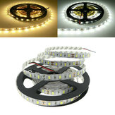 5M Non-Waterproof White/Warm White SMD 5730 300 LED Flexible Strip Tape Light DC12V