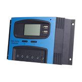 10A 15A 20A 25A 30A 40A PWM 12V / 24V zonnepaneel batterijregelaar Laadregelaar Lcd-scherm