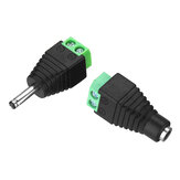 3.5 * 1.35mm DC Power Macho Feminino Plug Jack Adapter Conector para CCTV LED 5050 3528 5630 Luz de Tira