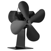 4 Blade Heat Powered Eco Fan Stove Fan for Fireplace Heater