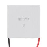 مبرد حراري TEC1-12710 12V تبريد بلتيير TEC أشباه الموصلات الحرارية 40 مللي متر * 40 مللي متر * 3 مللي متر