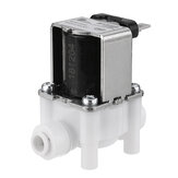 24V 1/4 Inch RO Water Purifier Inlet Water Solenoid Valve 2 Electromagnetic Valve for RO Reverse Osmosis Pure System