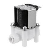 24ボルト1/4インチro浄水器入口水電磁弁2電磁弁用ro逆浸透純粋システム