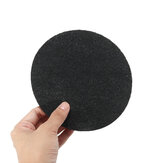 12Pcs Activated Carbon Adsorption Sponge Filters Kitchen Bin Compost Pad Sheet