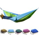 Outdoor Camping Hammock Parachute Cloth Lightweight Nylon Portable Hammock For 1-2 People 260 x 140CM