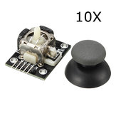 10Pcs PS2 Game Joystick Push Button Switch Module Geekcreit for Arduino - products that work with official Arduino boards