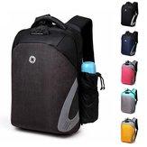 ErkeklerAntiHırsızlıkLaptopSırtÇantası Su Geçirmez Depolama Çanta Outdoor İş Seyahati için USB Şarj Portu ile Sırt Çantası
