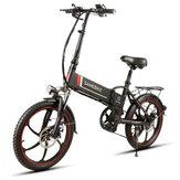 Samebike XW-20LY 10AH 48V 350W Bicicleta elétrica dobrável inteligente de 20 polegadas 35km / h Capacidade máx. Velocidade 70km Quilometragem Max Load 120kg E-Bike
