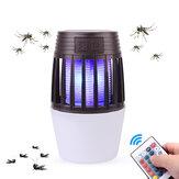 Télécommande électronique anti-moustique lampe 2 en 1 Camping LED lumière nocturne anti-mouche anti-mouches Zapper insecticide tueur antiparasitaire